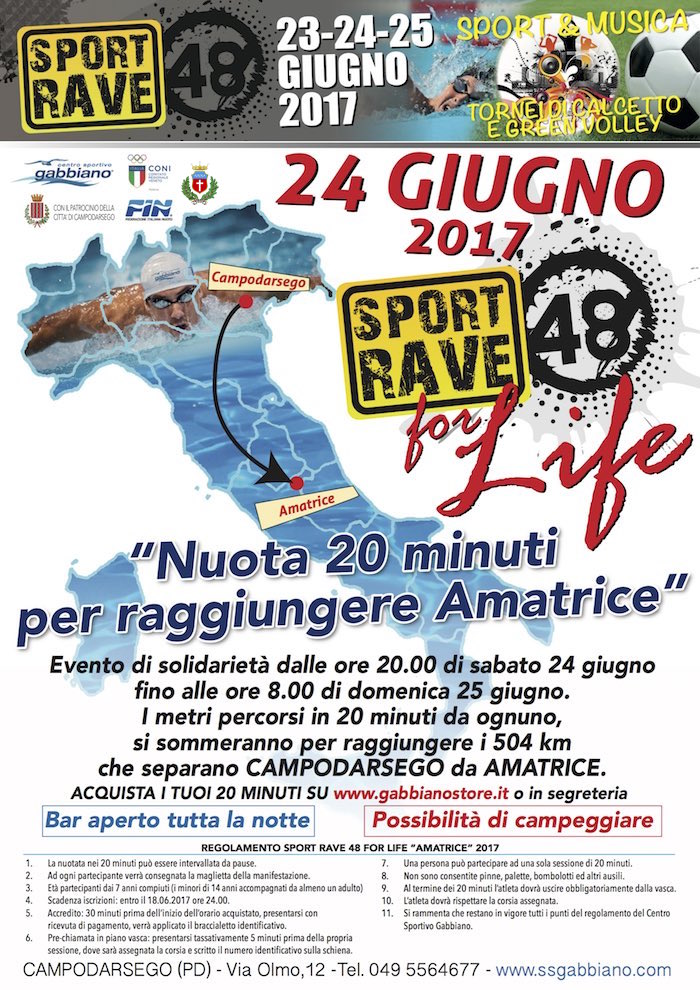 Copia di LOCANDINA SPORT RAVE FOR LIFE 2k