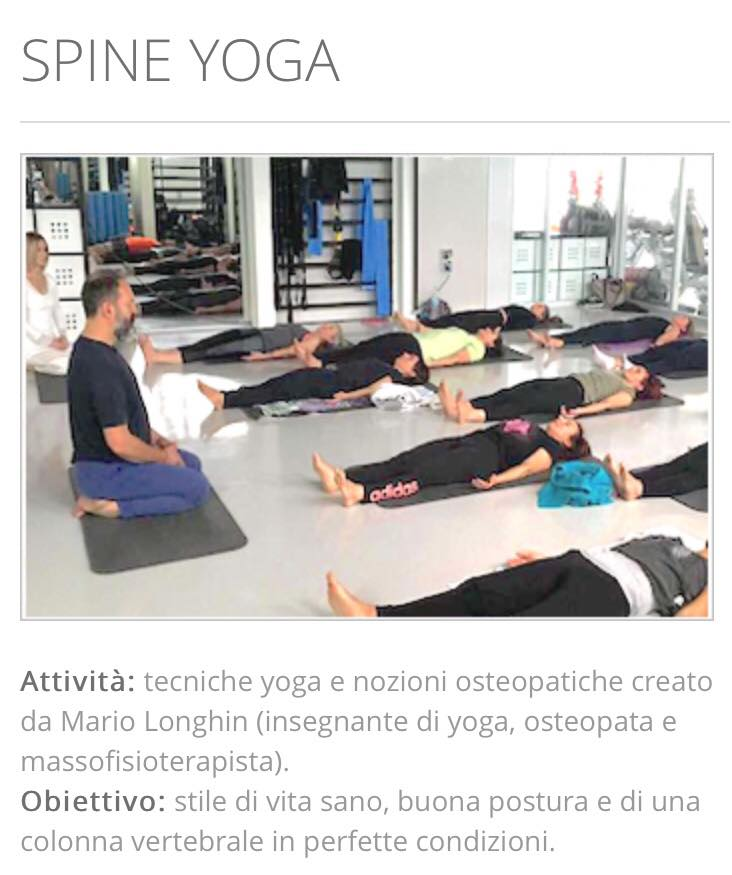 Spine yoga gabbiano news